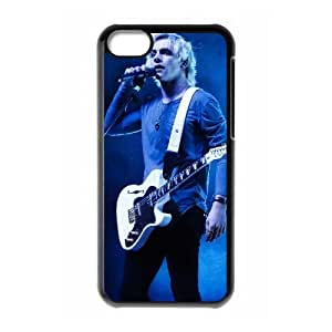 5c caso Riker Lynch funda iPhone Y8W71A4GP funda O3M53R negro