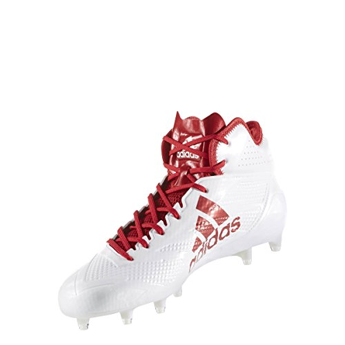Adidas Adizero 5star 6.0 Mid Cleat Heren Voetbal White-power Rood-power Rood