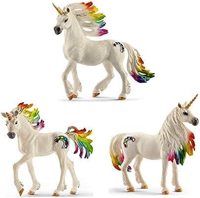 Schleich 70524 Rainbow Unicorn Fantasy Bayala Plastic Figure Mare