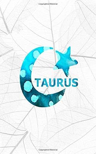 TAURUS: 5x8 journal : Sun Sign Astrology Zodiac Happy Birthday April 21 to May 21