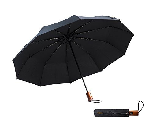 DeNobilli Windproof Travel Umbrella 5 Pack by WITKEEN