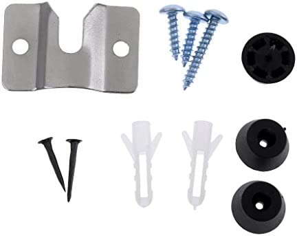 ダーツボード ハードウェアキット 取り付け金具 掛け用ネジ 壁掛け部品 1セット