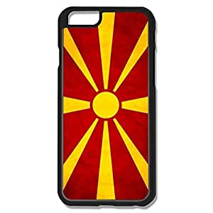IPhone 6 Cases Macedonian Flag Design Hard Back Cover Shell Desgined By RRG2G