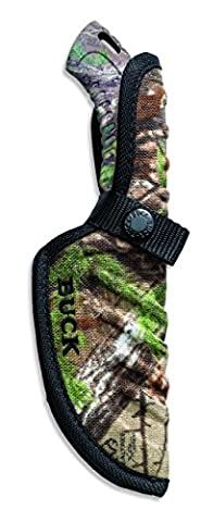 Buck Knives 392 Omni Hunter Fixed Blade Knife with Realtree Xtra Green Camo Handle - Omni Hunter Coltello