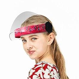 Steelbird YS-99 7Wings Girls Helmet Visor Face Shield With Cartoon Characters Print, Flip-Up Stylish Designer Full Face…