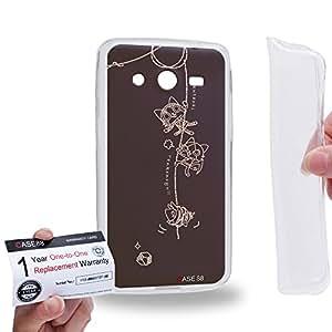 Case88 [Samsung Galaxy Core 2 / II G355H] Gel TPU Carcasa/Funda & Tarjeta de garantía - Monster Hunter Poka Poka Airou Giri-AiruG Pugi 1145