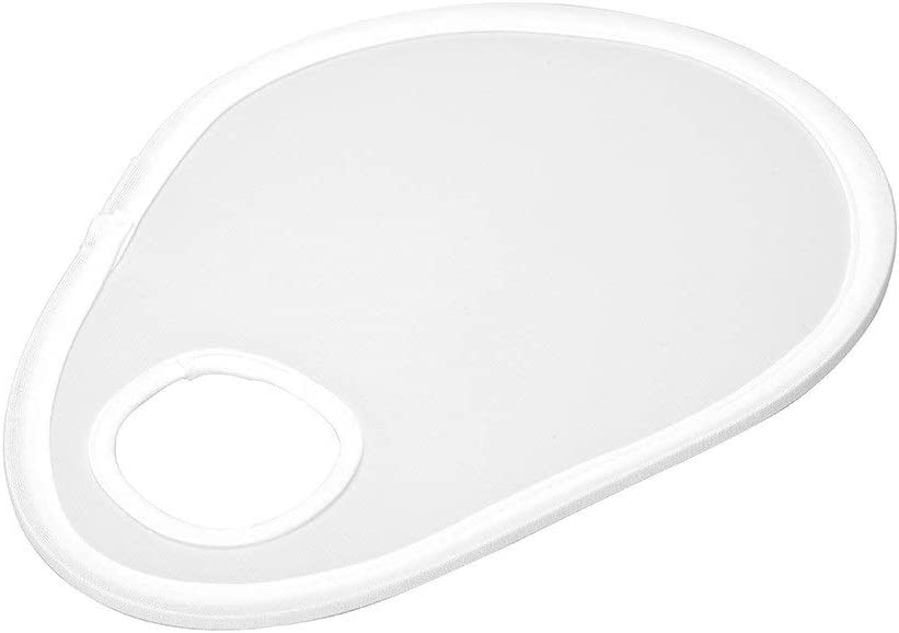 Rnwen Reflector Photographic Equipment Camera Lens Soft Plate Mini Universal Reflector Portable Folding White Reflector Ideal for Outdoor Photography Activities Photographic Reflector