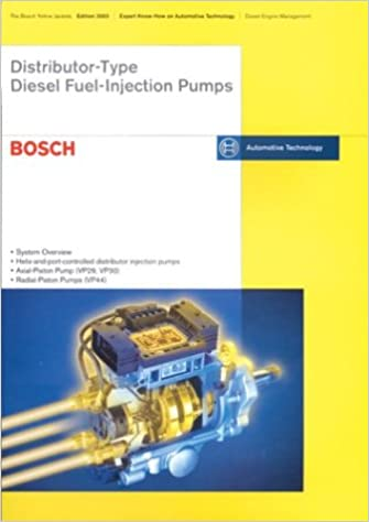 Distributor Type Diesel Fuel Injection Pumps: Bosch
