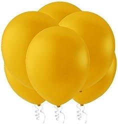 "Creative Balloons 12"" Latex Balloons - Pack of 144 Piece - Decorator Marigold"