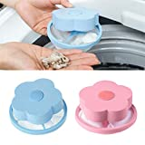 Sunsee Filter Bag, Mesh Filtering Hair Removal Floating 2Pcs Filter Bag Washer Style Laundry Clean