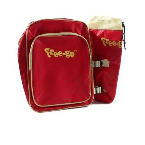 Sportlicher Rucksack mit Kühltasche bunt Sport Tasche Unisex Ausflug Schule 161432