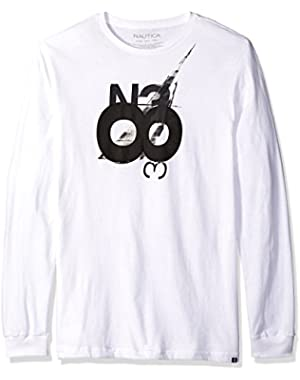 Men's N38 Graphic Long Sleeve T-Shirt
