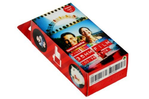 Lomography 603 35 mm 100/36 ISO Fine Color Negative Film - 3 Rolls in a Pack (Red)
