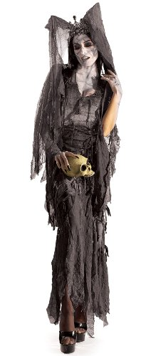 [Rubie's Costume Lady Gruesome, Grey, One Size Costume] (Zombie Queen Costumes)