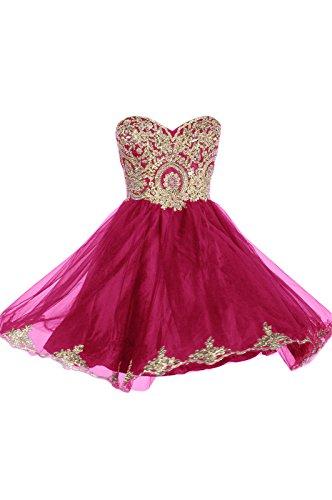 Fuschia Homecoming Dresses - 7