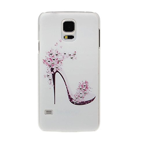 TOOPOOT(TM) High Heels Shoes Diamond Hard Skin Case Cover For Samsung Galaxy Note 3