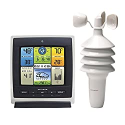 AcuRite 00589 Pro Color Weather Station with Wind Speed, Temperature and Humidity
