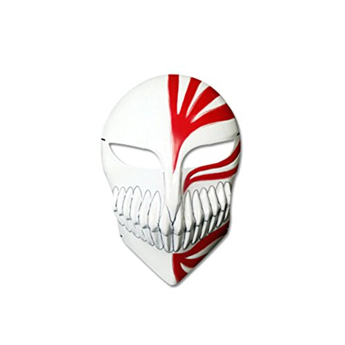 YIYO Anime Death Ichigo Kurosaki Fancy Dress CosPlay Mask for Halloween Party (Ichigo Kurosaki Halloween Costume)
