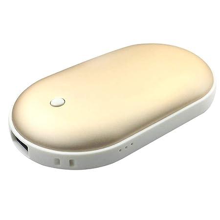 Decdeal Calentador de Manos por USB 5200Amh Mini Cargador ...