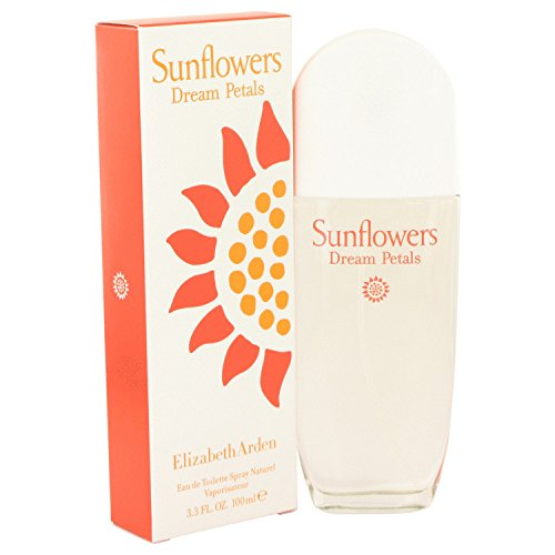Elizbeth Ardn Sunflowrs Dram Ptals Perfum For Women 3.3 oz Eau De Toilette Spray + a Free 1.7 oz Shower Gel