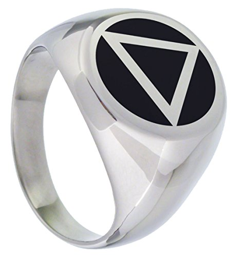 Serenity is Forever AA Alcoholics Anonymous Ring (10)