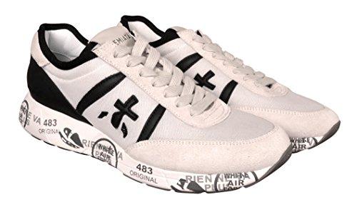 Bianco Sneakers Bianca Sporco Modello Hanzo Nera PREMIATA Scarpa Uomo HANZO2908 e fxSd8T