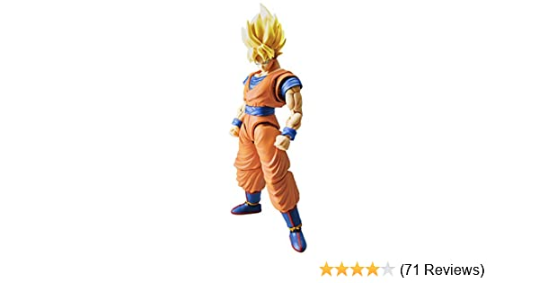Amazon.com: Bandai Hobby Figure-Rise Standard Super Saiyan Son Goku ...