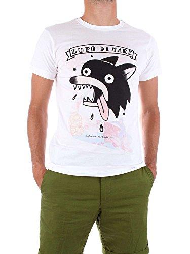 Shirt COLORED Blanc REVOLUTION Homme T M008 qvtHv6T