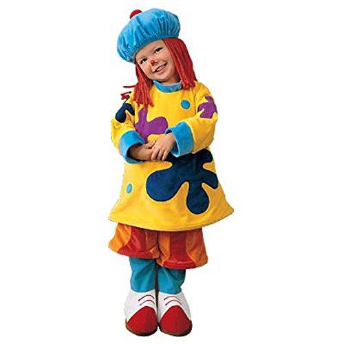 JoJo the Clown Circus Costume - Size XS (Toddler Size (Jojo Circus Costume)
