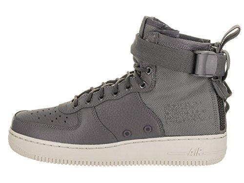 geniue stockist online pay with visa sale online NIKE Men's SF AF1 Mid PRM Basketball Shoe Dark Grey/Dark Grey-light Bone cYh85