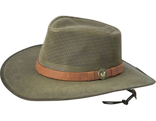 - Outback Trading Kodiak Hat with Mesh, Sage, L