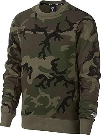 Nike Men's M Sb Crew Icon Erdl Sweatshirts, Multicolour , L-NKAT9768-222