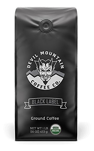 black label from devil mountain coffee