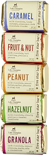 Five Star Chocolate Bars - Assorted 5 pack