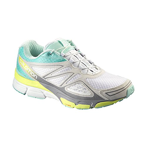 Salomon X-Scream 3D Women white/bubble blue/gecko green