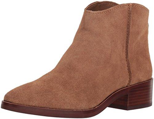Dolce Vita Women's Tucker Ankle Boot, Dark Saddle Suede, 7 M US