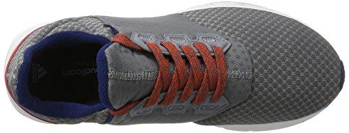 adidas Falcon Elite 5 XJ, Zapatillas de Running Unisex Adulto, Gris (Gris/(Gris/Ftwbla/Azumis) 000), 40 EU