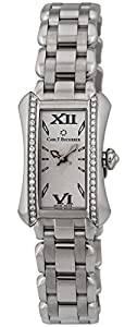 Carl F. Bucherer Alacria Princess Stainless Steel & Diamond Womens Watch 00.10703.08.15.31