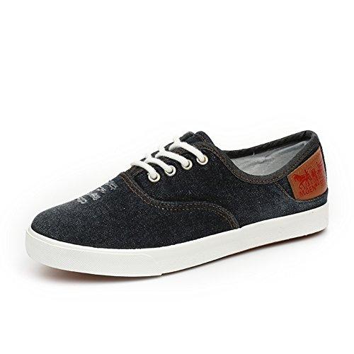 Sra zapatos de lona de encaje/zapatos de mezclilla/zapatos casuales para ayudar a baja permeabilidad A
