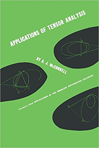 Applications of tensor analysis