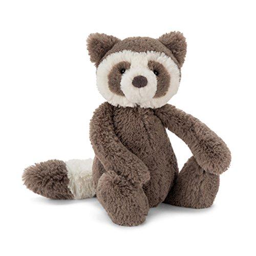 Jellycat Bashful Raccoon Stuffed Animal, Small, 7 inches