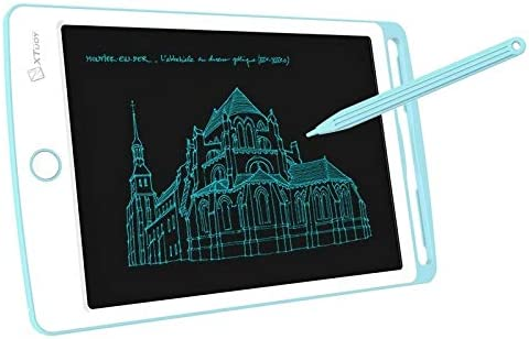 8.5 Inch LCD Writing Tablet High Brightness Handwriting Drawing Sketching//Doodle Board for Home Office Writing Drawing Color : Blue Drawing Sketchpad