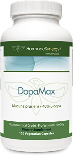 Mucuna Pruriens 40% L-Dopa Extract | 120 ea. 300 mg caps | Focus and Mood Support* | FREE eBook