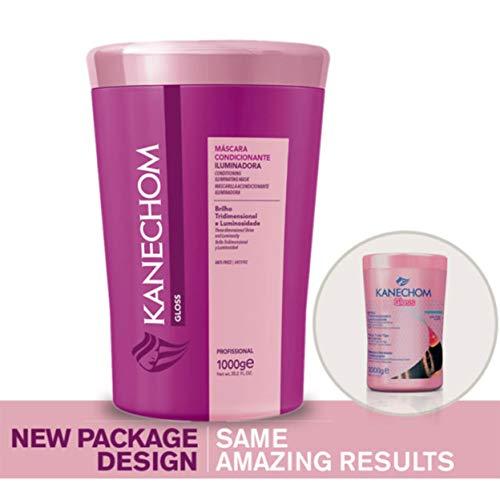 - Brazilian Hair Treatment Kanechom Gloss Conditioning Hydrating Mask 1000g