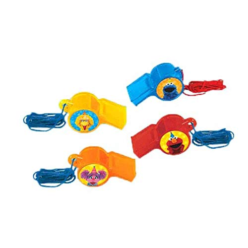 (Whistle Favors | Sesame Street® Collection | Party Accessory | 72 Ct.)