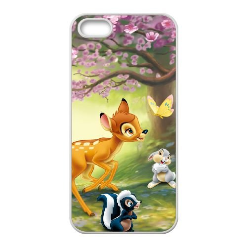 Bambi Ii 008 coque iPhone 4 4s cellulaire cas coque de téléphone cas blanche couverture de téléphone portable EOKXLLNCD26585