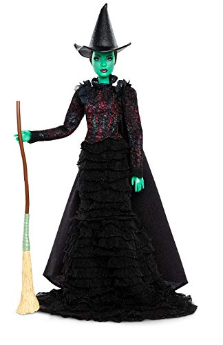 Barbie Entertainment Musical Wicked Elphaba Doll]()