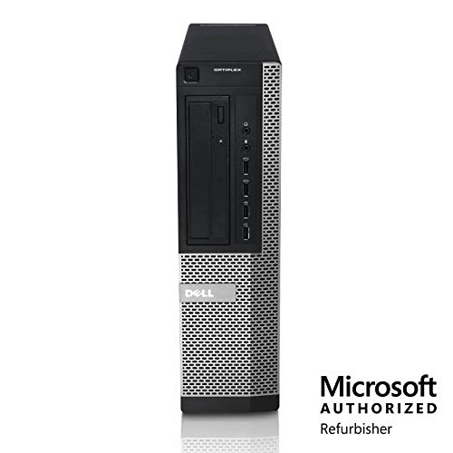 Dell Optiplex 9010 Workstation PC, 3.2 GHz Intel Core i5-3470, 4 GB RAM, 250 GB HDD, DVD, Windows 10 Home (Renewed)