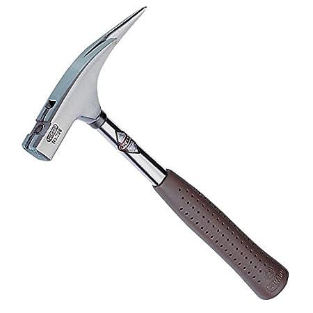 Picard - Latthammer mit magnetischem Nagelhalter, Hammerkopf fein blank, brauner Spezialgriff 600 g, Nummer 298 0029810
