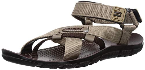 PARAGON Men's Grey Sandals – 8 UK/India (42 EU)(PU8910G)